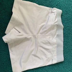 Nike Shorts - White nike pro shorts